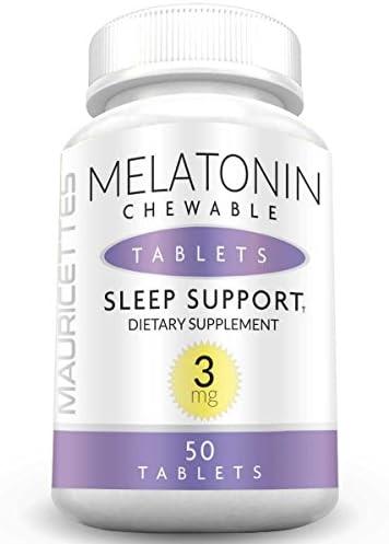 Chewable Melatonin Natural Sleep Adults