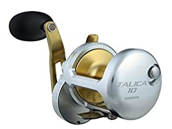 Shimano Talica 25 Ii Speed Leverdrag Big Game Offshore Seafishing Multiplier Trolling Fishing Reel, Tac25ii