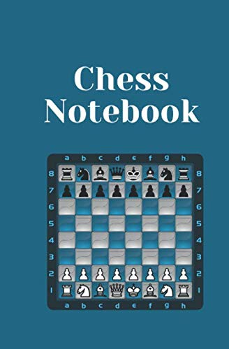 chess notebook, 5,25 x 8 in 50 pages: its not game over !