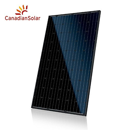 Canadian Solar 260 Watt Black on Black Monocrystalline