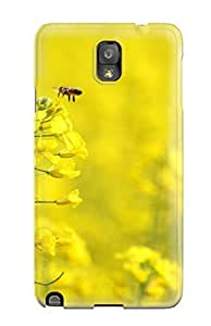 Hot Tpu Case For Galaxy Note 3 With Yellow Flowers