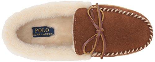 Ralph Lauren womens Polo Marcie Gen Suede Moccasin Tan Beige pGIs7h0UwL