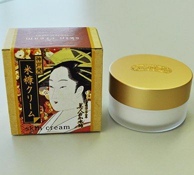 100 year make up cosmetics Rice Bran Cream 30g(ukiyoe package) Made in Japan Real corporation
