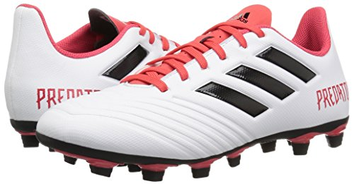 Pictures of adidas Kids' ACE 18.4 FxG Soccer Shoe CM7669 Black/Red 4