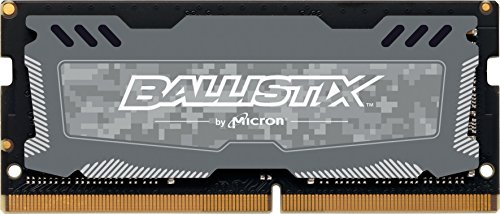 Ballistix Sport LT 8GB Single DDR4 2400 MT/s  SODIMM 260-Pin