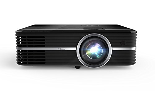 Optoma UHD51A True 4K UHD Smart Projector | Bright 2,400 Lumens | HDR10 | Works with Alexa and Google Assistant | Voice Command to Activate Projector and USB Media Features from Optoma