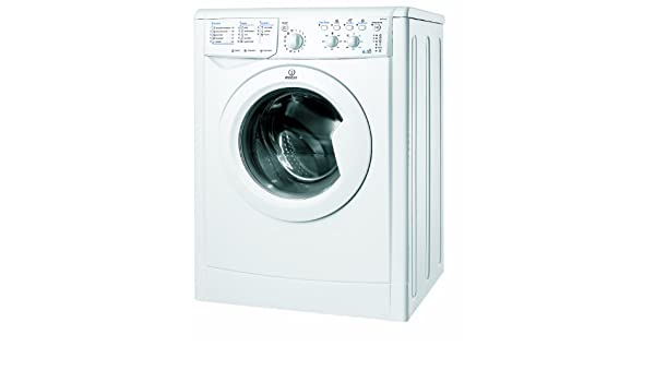 Indesit IWDC 6145 DE lavadora - Lavadora-secadora (Frente ...