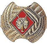 BSA Wolf Neckerchief Slide