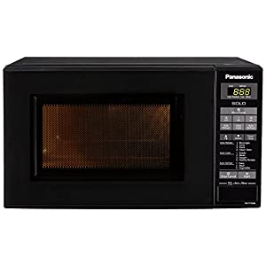 Panasonic 20 L Solo Microwave Oven (NN-ST266BFDG, Black)
