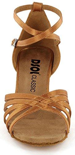 DSOL Damen Latin Dance Schuhe DC261303 / DC261305 Bräunen