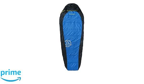 Ternua ® Camplight 60 Saco de Dormir, Unisex Adulto, Azul/Negro, Talla Única: Amazon.es: Deportes y aire libre