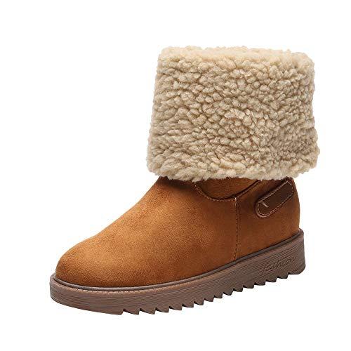 - AgrinTol Winter Warm Short Boots, Women Cotton Shoes Boots Snow Boots Short Bootie