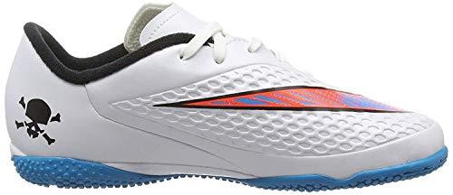 Nike Jr Mercurialx Victory Vi CR7 TF - Zapatillas de césped de fútbol para niños, Blanco, 23 MX M Niño Grandes