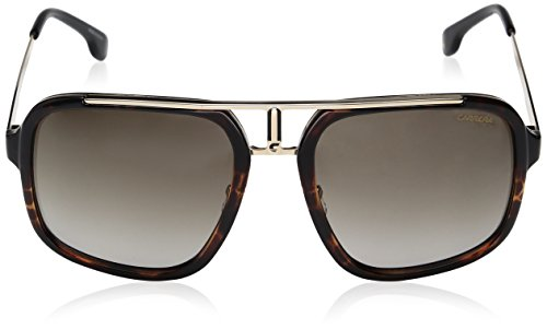 Carrera Men s Ca1004s Aviator Sunglasses, Havana Gold Brown Gradient, 57  mm  Amazon.com.mx  Ropa, Zapatos y Accesorios 3ce5702aeb07