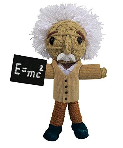 - Kamibashi Albert Einstein The Original String Doll Gang Handmade Keychain Toy & Clip