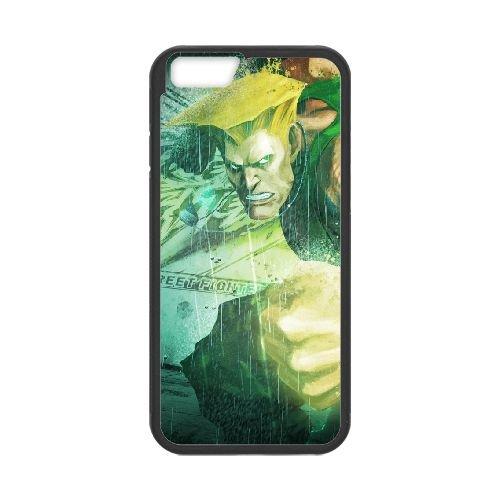 Street Fighter X Tekken Guile Dist Magic Haircut coque iPhone 6 4.7 Inch cellulaire cas coque de téléphone cas téléphone cellulaire noir couvercle EEECBCAAN04227