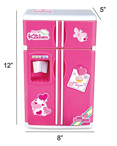 Liberty Imports Dream Kitchen Mini Refrigerator Pink Toy