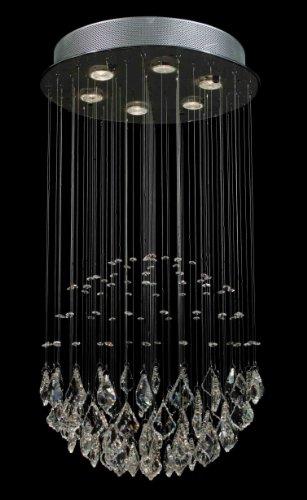 "Modern Contemporary Chandelier ""Rain Drop"" Crystal Chandeliers Lighting! H32″ X W18″"