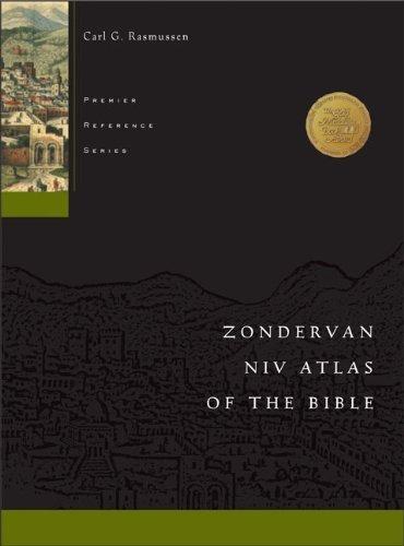 Zondervan NIV Atlas of the Bible Hardcover April 1, 1999