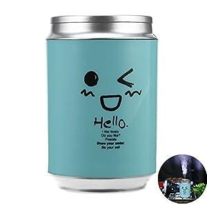 Air Humidifier, 120ml Creative Mini Mist Humidifier for Home Office Vehicle