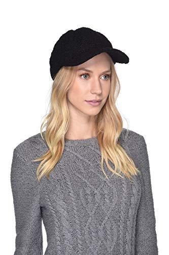 Ugg Shearling Hat - UGG Women's Faux Sherpa Cap Black One Size
