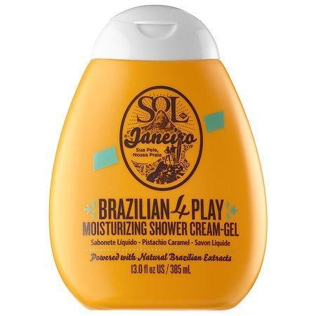 Cream Gel Shower (Sol de Janeiro Brazilian 4 Play Moisturizing Shower Cream-Gel)