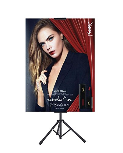 Poster Sign Holder for Board or Foam,Poster Sign Stand, Double Sided Stand,Adjustable Size up to 70