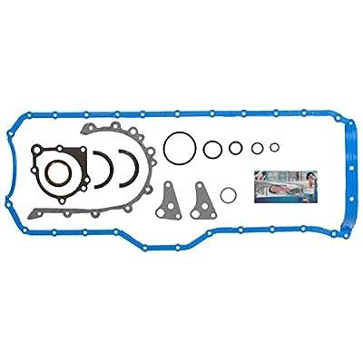 Oil Conversion Gasket Set for 01-06 Jeep Wrangler X Sport Sahara Rubicon Cherokee Grand Cherokee 4.0L I6 VIN Code S V by Detoti Auto: Automotive