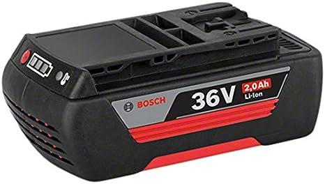 Bosch Professional GBA 36V 2.0Ah - Batería de litio (1 batería x 2.0 Ah, 36V)