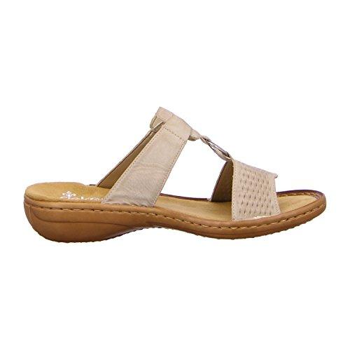 Rieker - Zapatillas de casa Mujer Weiß
