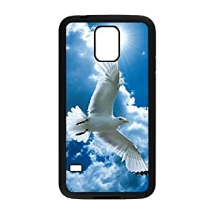 White Dove Use Your Own Image Phone Case for SamSung Galaxy S5 I9600,customized case cover ygtg583838