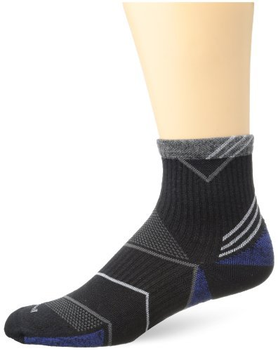 Sockwell Men's Incline Quarter Compression Socks by Sockwell