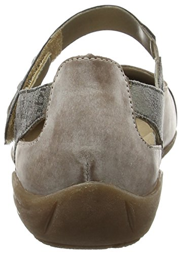 Cigar Dorndorf Grey Loam Women's Antique Closed Remonte D4627 Ballerinas Schwarz 25 Grey YdAgqqw