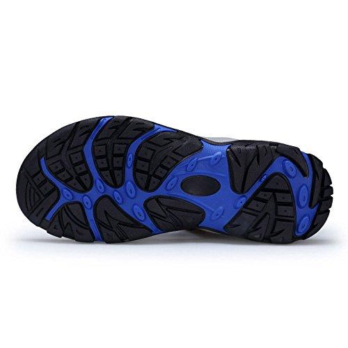E Blue Antiscivolo in Sandali Velcro Antiscivolo LEDLFIE per Esterni con BgA11qvw