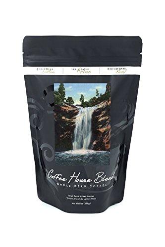 Colorado Springs, CO - Bridal Veil Falls, South Cheyenne Canyon (8oz Whole Bean Small Batch Artisan Coffee - Bold & Strong Medium Dark Roast w/Artwork) ()