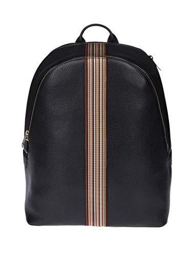 Paul Smith Men's M1a5419a4000979 Black Leather Backpack