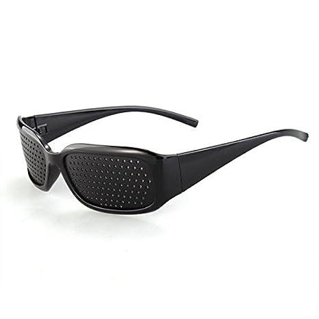 Anteojos Gafas Reticulares Agujeros Lectura Color Negro