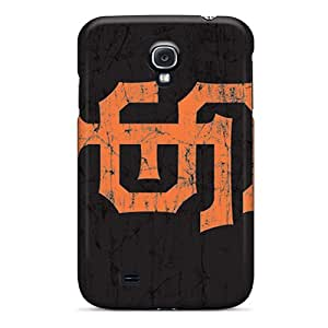 Protective Hard Phone Case For Samsung Galaxy S4 With Provide Private Custom Trendy San Francisco Giants Pattern TimeaJoyce