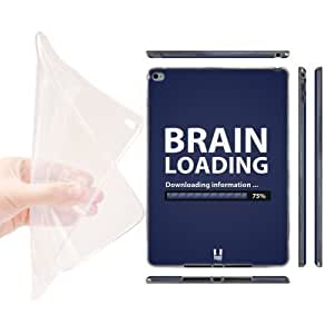 Head Case Designs Brain Loading Progress Bar Soft Gel Back Case Cover for Apple iPad Air 2