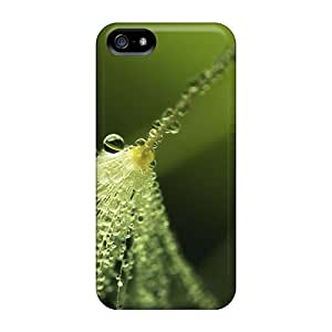 New Arrival Tae15571Qhzg Premium Iphone 5/5s Cases(water Nature Water Drops Raindrops)
