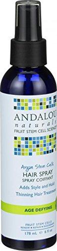 2 Packs of Andalou Naturals Hair Spray - Age Defying - Argan