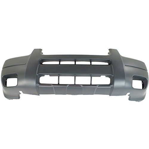 New Evan-Fischer EVA17872022557 Front BUMPER COVER Textured for 2001-2004 Ford (Ford Escape Front Bumper Cover)