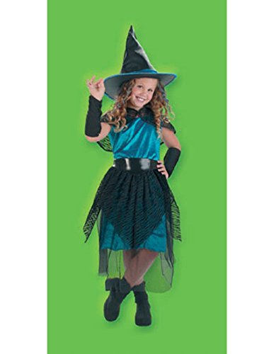 Girl's Witch Costume (Witch Costume For Kids Sassy)