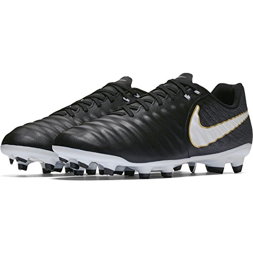 NIKE Shoes White Ligera Footbal Tiempo 002 Fg Black Iv Men s Black Black 4Bw04r
