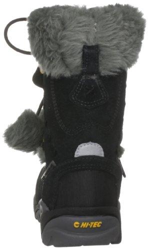Hi Tec St. Moritz 200 JR HOH2068024 - Botas de ante para niña Negro