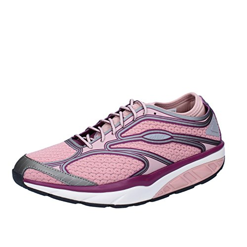 MBT Sneakers Donna 37 EU Rosa Viola Tessuto