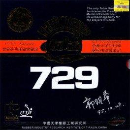 729 Friendship Super FX Table Tennis Rubber (Black) - 1
