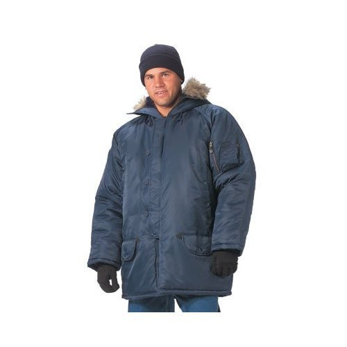 Ultra Force N-3B Snorkel Parka in Navy Blue - -