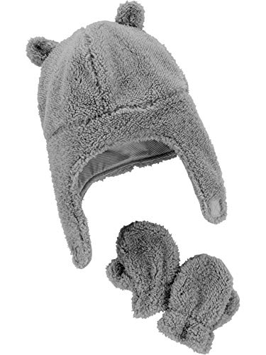 Simple Joys by Carter's Baby Hat and Mitten Set