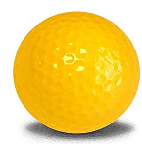 Yellow Golf Balls 12 Pack